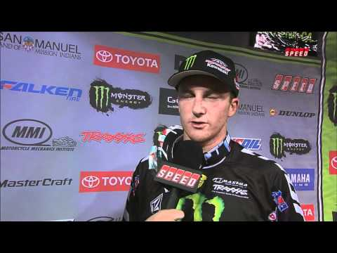 Supercross LIVE! 2012 - Tyla Rattray had a great opening race in Anaheim on a tough track!