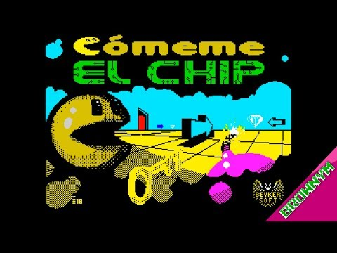 Cómeme el chip By Beyker soft. [2019] - ZX Spectrum Homebrew
