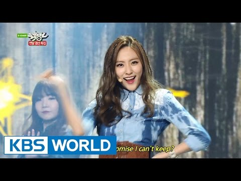 Bestie - MAMACITA | 베스티 - 마마시타 [Music Bank Year-end Chart Special / 2014.12.19]