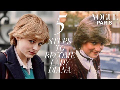 "How Emma Corrin became Lady Diana for ""The Crown"" | Vogue Paris"
