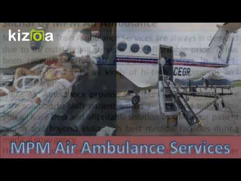 MPM Air Ambulance Services in Silchar is Available Anytime