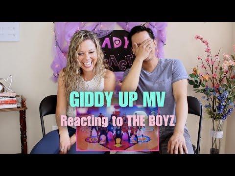 Giddy Up by THE BOYZ - M/V Reaction