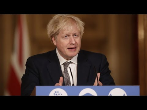 Live: Boris Johnson leads urgent Covid briefing from Downing Street | ITV News