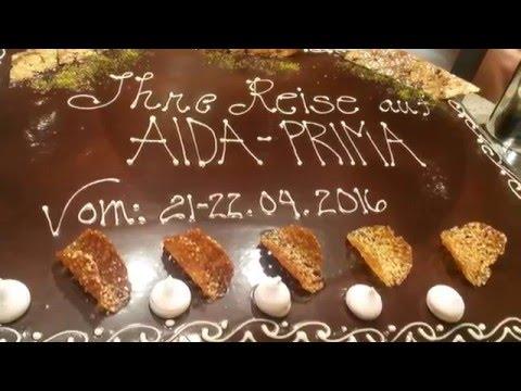 AIDA Prima Einführungsfahrt - Film 3