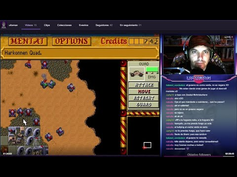 DUNE II (MS-DOS) | DIRECTO | Objetivo: 50 followers!