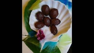 Madeleine au chocolat noir & Gâteau à l'orange