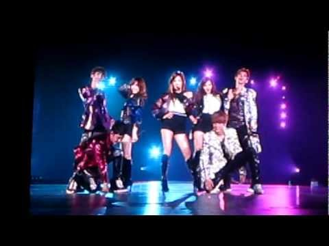 [FANCAM] 120804 SMTown Tokyo 2012 TTS with EXO -- DJ Got Us Falling In Love Again