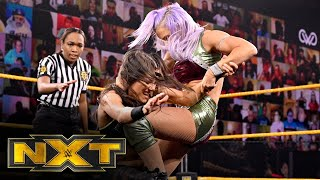 NXT 11/18: Candice LeRae And Indi Hartwell Vs. Kacy Catanzaro And Kayden Carter
