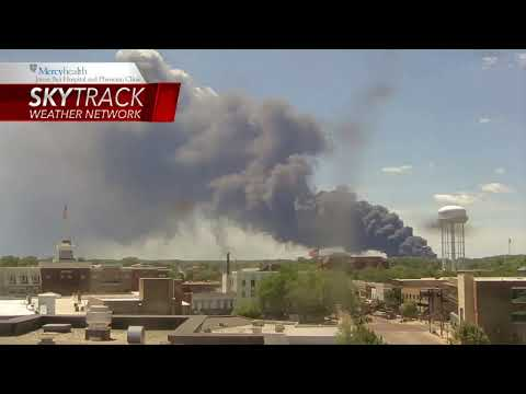WTVO LIVE: Chemical plant fire in Rockton, Illinois; residents evacuated.