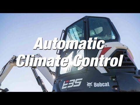 R-Series Excavators: Automatic Climate Control