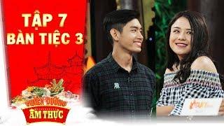 Thiên đường ẩm thực 3 | Tập 7 bàn tiệc 3: Quang Đăng, Thái Trinh kết hợp ăn ý trong trò chơi đếm đậu