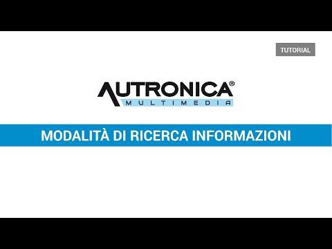 Tutorial Tipologie di Ricerca Informazioni sulla Banca Dati Autronica Multimedia