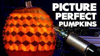 Making a robot to carve photos into pumpkins