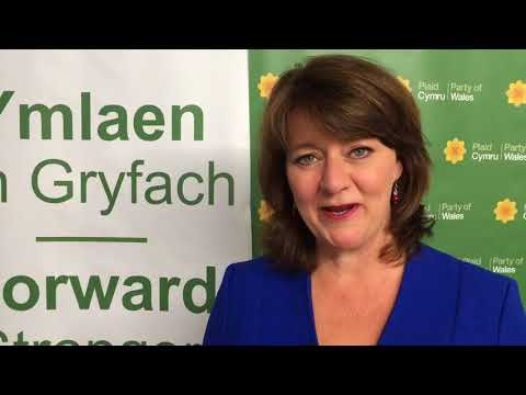 Leanne Wood Pre-Speech Interview