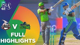 Full Highlights   Lahore Qalandars vs Multan Sultans   Match 7   HBL PSL 6   MG2T