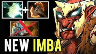 NEW IMBA BUILD Electric Bash Battle Fury Troll Most Crazy Stressful Game vs Cancer Lancer — Dota 2