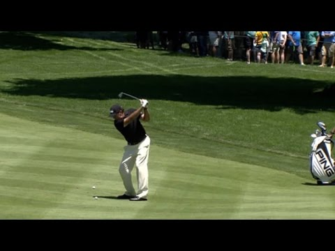 Phil Mickelson's clever approach sets up birdie at Bridgestone