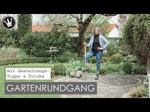 Großer GARTENRUNDGANG mit geheimen Einblicken | Gartengestaltung & Pflanzentipps | DekoideenReich
