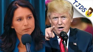 Tulsi Gabbard Calls Out Trump's Syria Warmongering