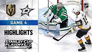 NHL Highlights | WCF, Gm4 Vegas Golden Knights @ Dallas Stars - Sept. 12, 2020