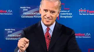 2008 Presidential Candidate Joe Biden Youtube