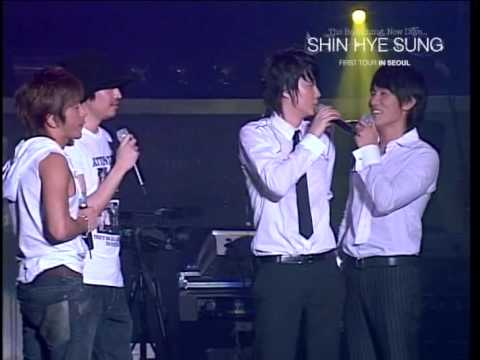 English subs [shinhwa @ HyeSung con part 2] Ricsyung