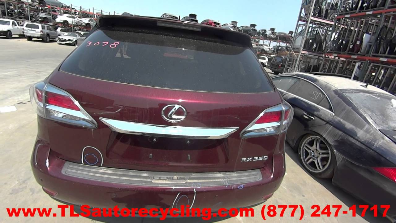 2013 lexus rx 350 engine assembly engine long block 1 year warranty part 259803. Black Bedroom Furniture Sets. Home Design Ideas