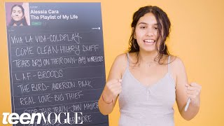 Alessia Cara Creates the Playlist to Her Life   Teen Vogue