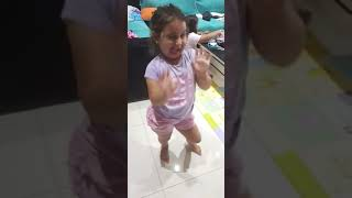 Danding Lexi - 3 year old - so much drama in one little girl