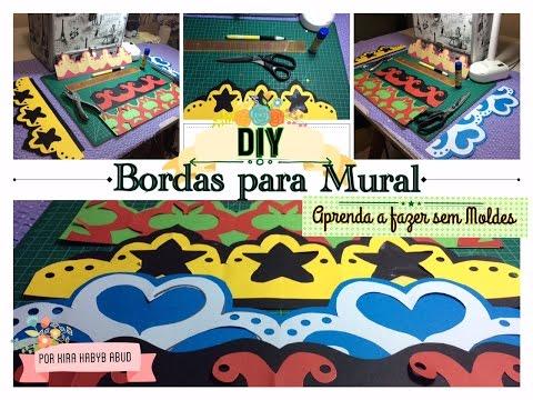 Video aula bauer arabescos e bordas vanessa patricio for Bordas para mural