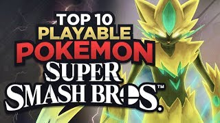 Top 10 Possible NEWCOMER POKEMON For SUPER SMASH BROS SWITCH