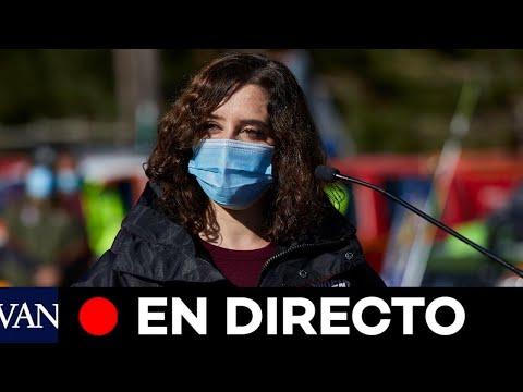 DIRECTO: Ayuso preside la apertura del nuevo hospital de pandemias Isabel Zendal