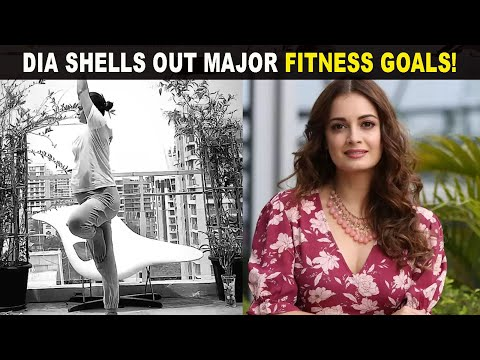 Mom-to-be Dia Mirza turns her terrace into a gym