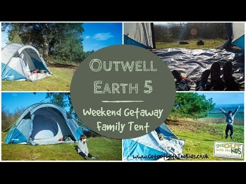 video Outwell Earth 5 Weekend Tent Review