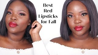 Best Red Lipsticks for Fall +A better match in the Juvia's Place #IAMMAGIC Foundation | Le Beat
