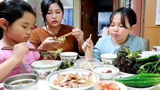 🇰🇷Vlog 81|| Ăn Cơm Thịt Nướng Hàn Quốc|| Yun Hye Bin