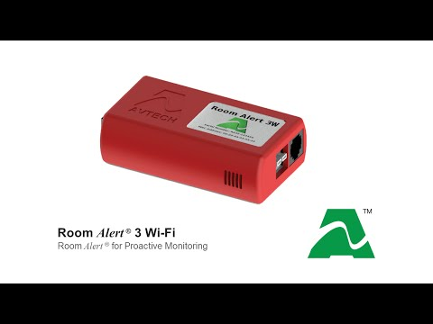 Monitor Temperature, Humidity, Power, Flood, And More Wirelessly With Room Alert 3 Wi-Fi