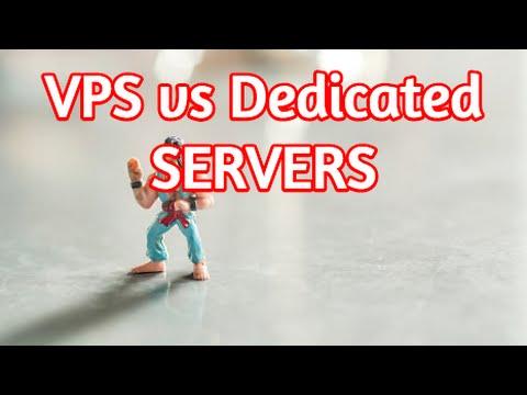 VPS (Virtual Private Server) vs Dedicated Servers - Setup, Tutorial, Review