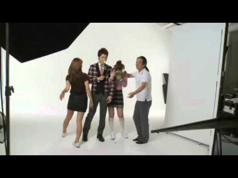 101115 f(x) with Infinite - Elite Uniform Behind The Scenes
