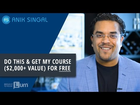 Do This & Get My Course ($2,000+ Value) for FREE