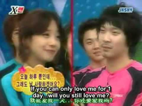 Xman Dangyunhaji   Oh Seung Eun vs Haha