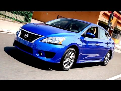 2013 Nissan Sentra Review - Kelley Blue Book - YouTube