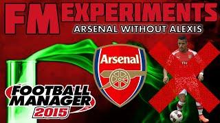 Arsenal Without Alexis Sanchez | FM15 Experiment