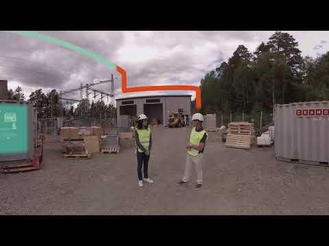 Ombyggnation Karlstads östra mottagningsstation - del 1 (360-film)