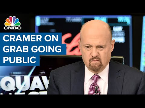 Jim Cramer on Grab going public in record $40 billion SPAC deal