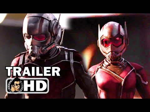 """ANT-MAN AND THE WASP """"Avengers 4 Quantum Realm"""" Trailer (2018) Marvel Superhero Movie HD"""