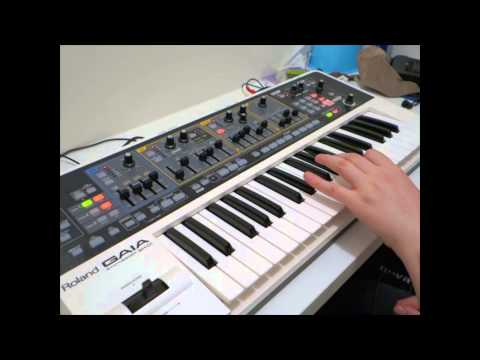 Roland Gaia Classic Synth Sounds Part 1 – Tutorial vlog by