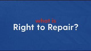 What is MA Right to Repair?