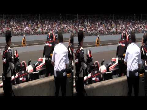 3net Indy 500: The Inside Line Clip 1 3D Video
