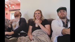 morgan andrew and garrett being an iconic trio for 8 minutes straight